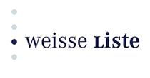 """Das Portal """"Die Weiße Liste"""" ist ein gemeinsames Projekt der Bertelsmann Stiftung und der Dachverbände der größten Patienten- und Verbraucherorganisationen. Das Portal ist kosten- und werbefrei. Es hilft bei der Suche nach einem passenden Arzt, Krankenhaus oder Pflegeheim."""